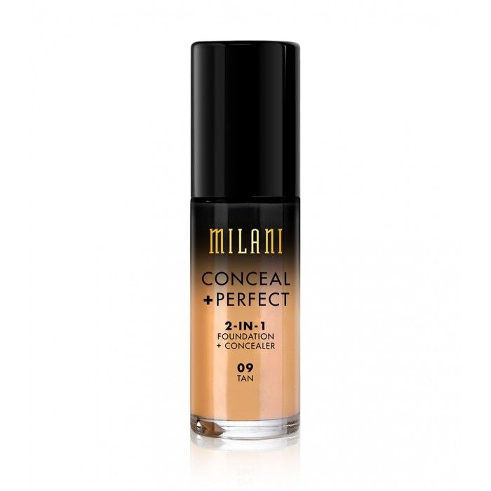 MILANI CONCEAL + PERFECT 2-IN-1 FOUNDATION + CONCEALER - TAN