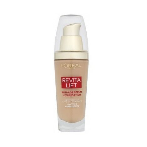 L'Oreal Revitalift  Anti Age Serum + Foundation 130 Warm Ivory 30ml