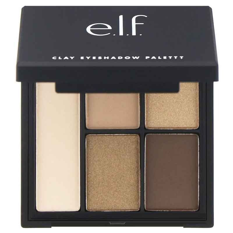 e.l.f Cosmetics Contouring Clay Eyeshadow Palette Saturday Sunsets