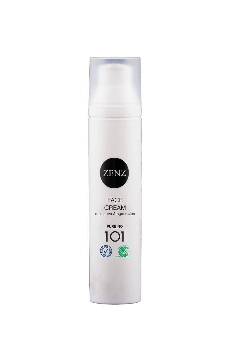 Zenz Face Cream Moisture + Hydration Pure No. 101 100ml