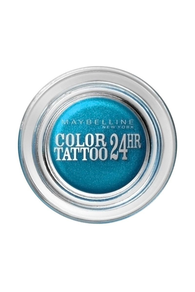 Maybelline Color Tattoo 24H Leather Effect Eyeshadow 20 Turquoise Forever