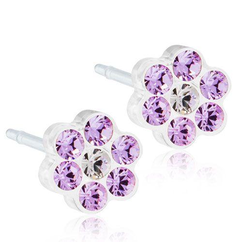 Blomdahls - MP Daisy 5mm, Violet/Crystal