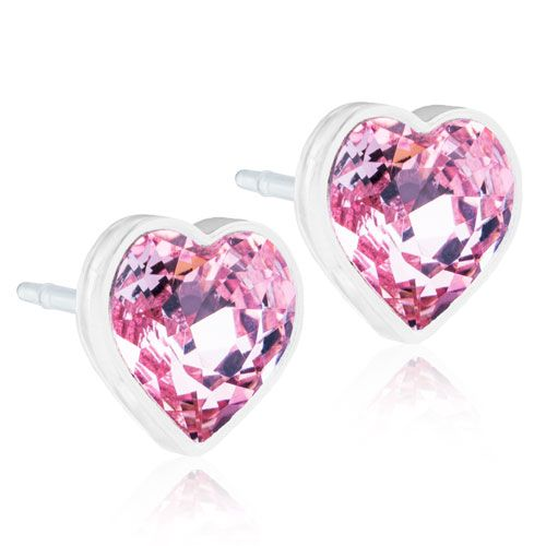 Blomdahls - MP Heart 6mm, Light Rose