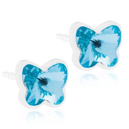 Blomdahls - MP Butterfly 5mm, Aquamarine