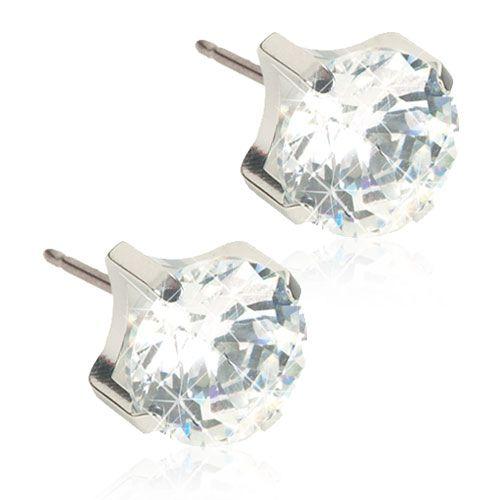 Blomdahls - ST Tiffany 7mm, CZ White