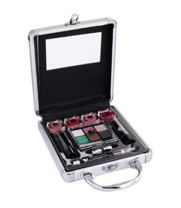 2K Beauty Basic Train Case Set