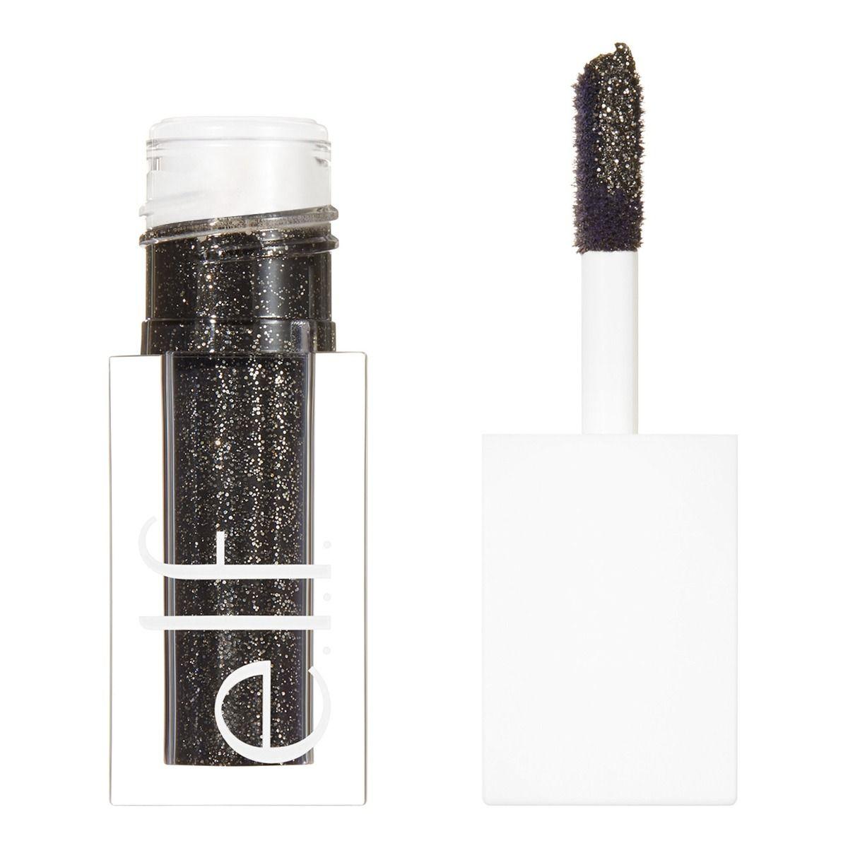 e.l.f. Glitter Melt Liquid Eyeshadow Black Magic