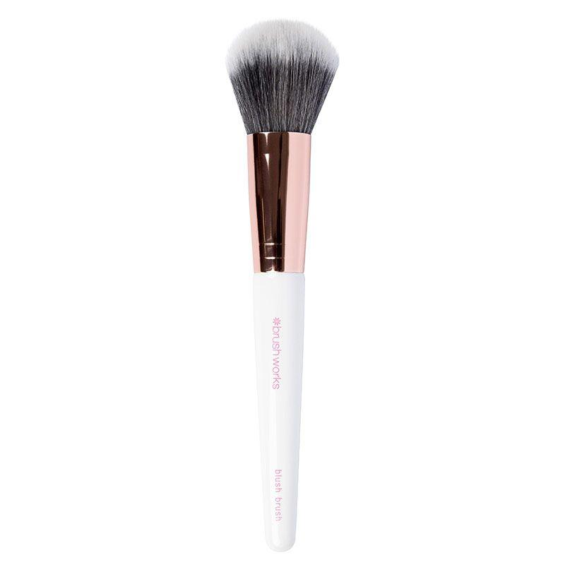 Brushworks Blush Brush- Pink & Gold