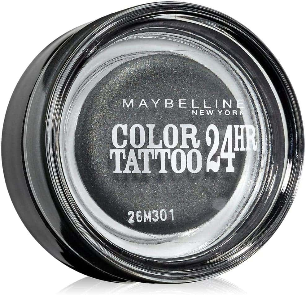 Maybelline Color 24H Tattoo Gel Cream Eyeshadow 55 Immortal Charcoal