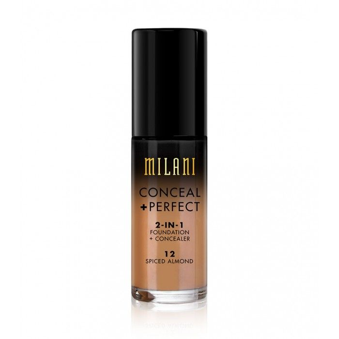 Milani Conceal + Perfect 2-In-1 Foundation + Concealer Spiced Almond