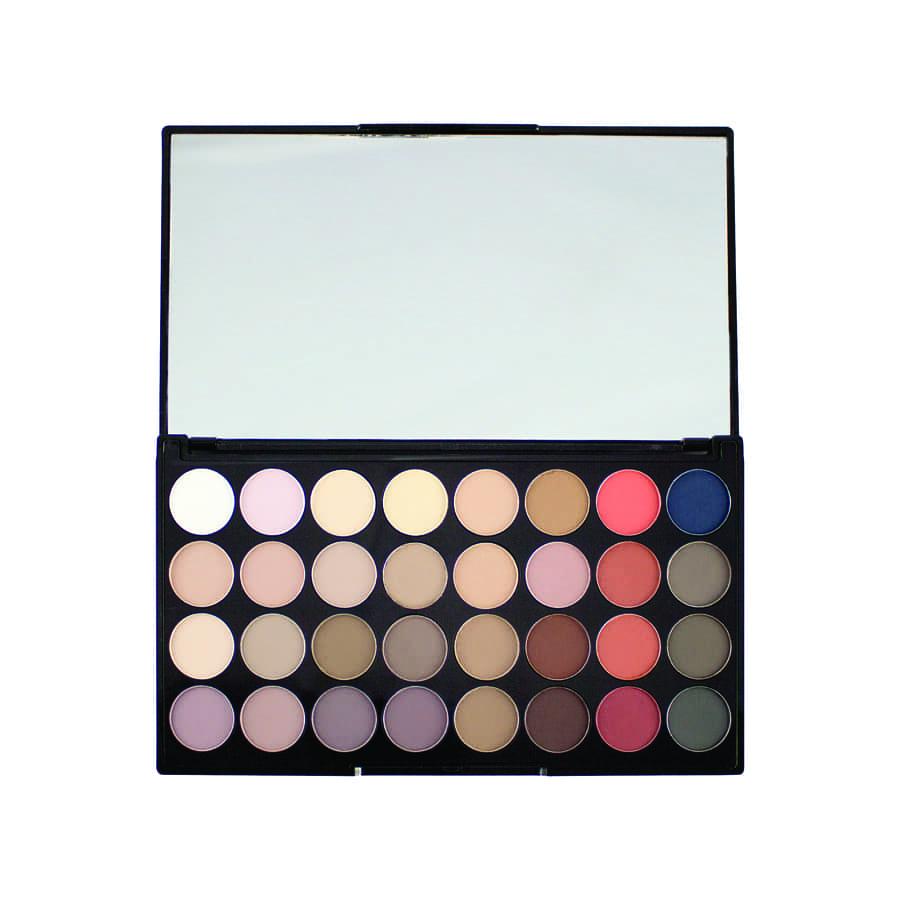 Makeup Revolution 32 Eyeshadow Flawless Matte 2 Ultra Palette