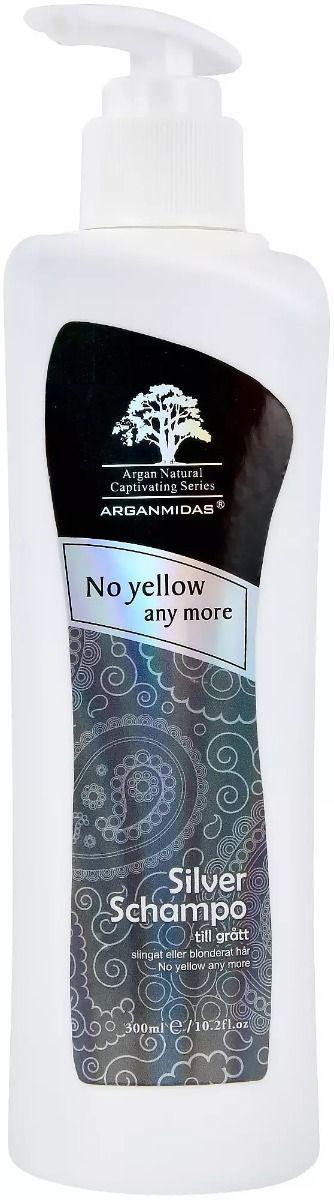 Arganmidas Silver schampo 300 ml