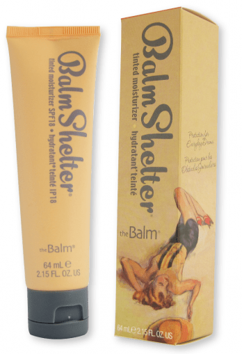 theBalm BalmShelter Tinted Moisturizer SPF 18 Lighter Than Light