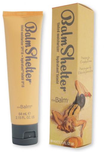 theBalm BalmShelter Tinted Moisturizer SPF 18 After Dark