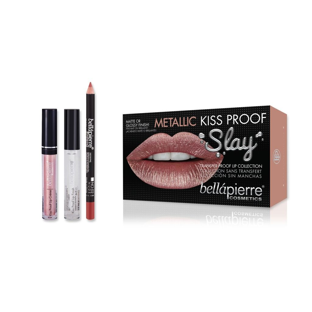 Bellapierre Kiss Proof Metallic Slay Kit – Miami Glam