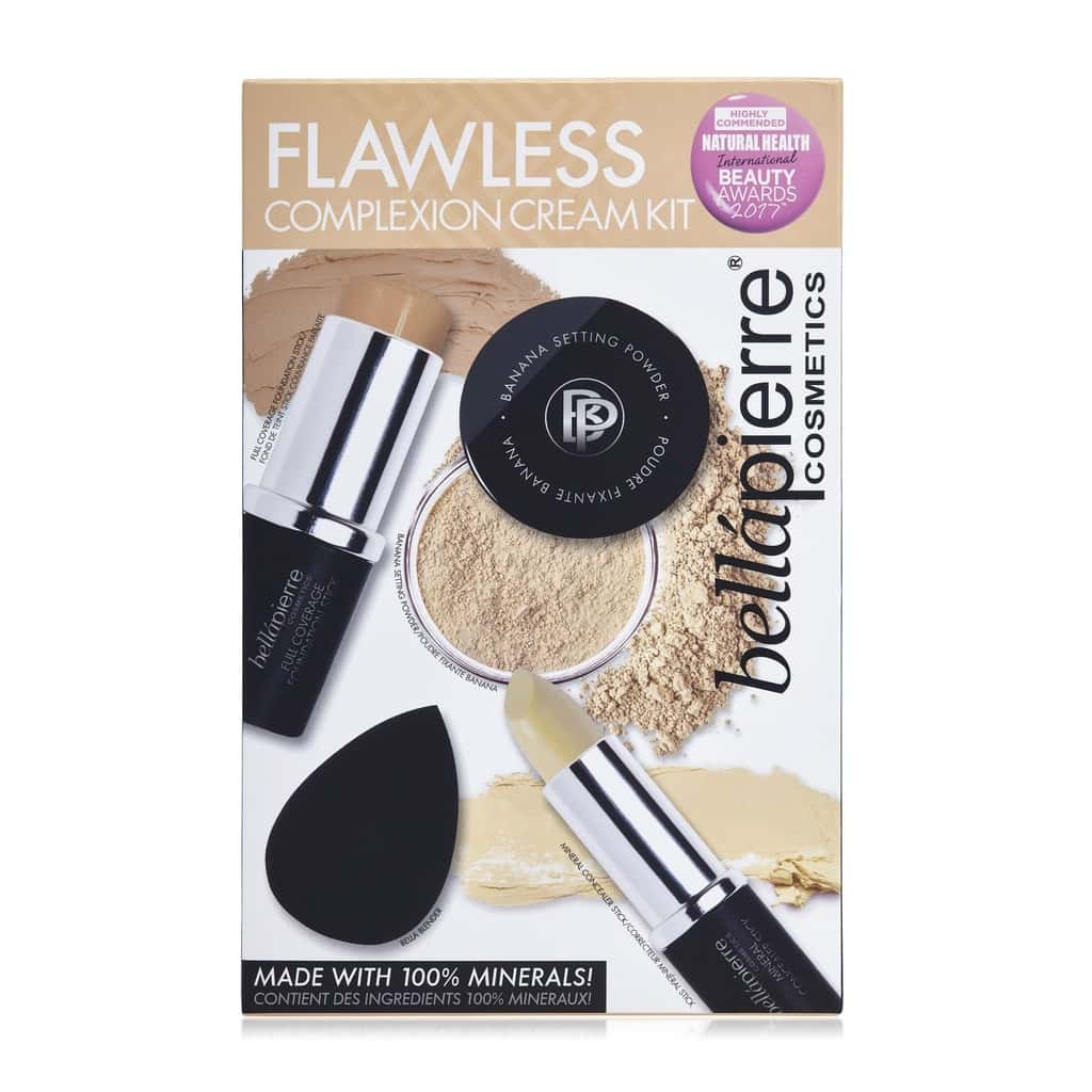 Bellapierre Flawless Complexion Cream Kit Medium