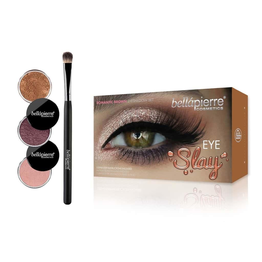 Bellapierre Eye Slay Kit – Romantic Brown