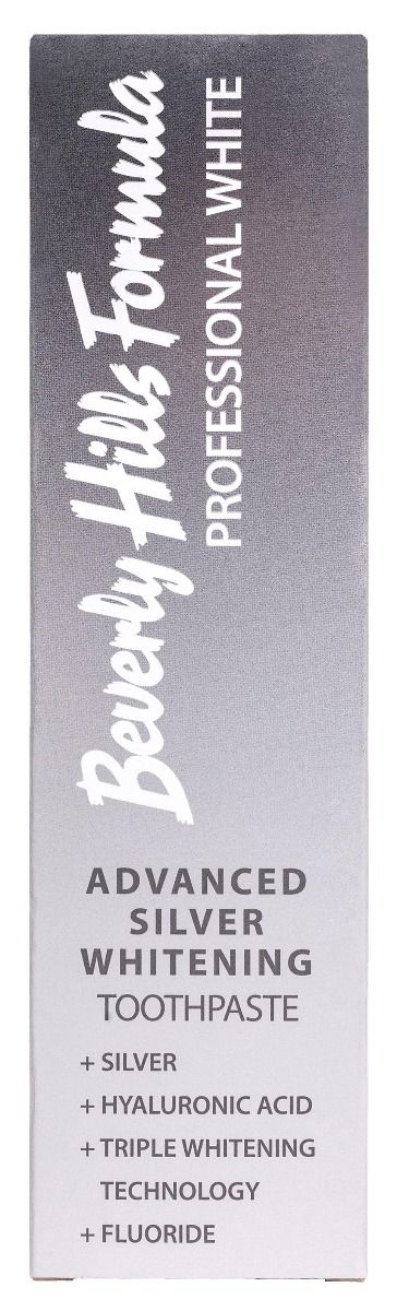Beverly Hills Formula Advanced Silver Whitening Toothpaste 100ml