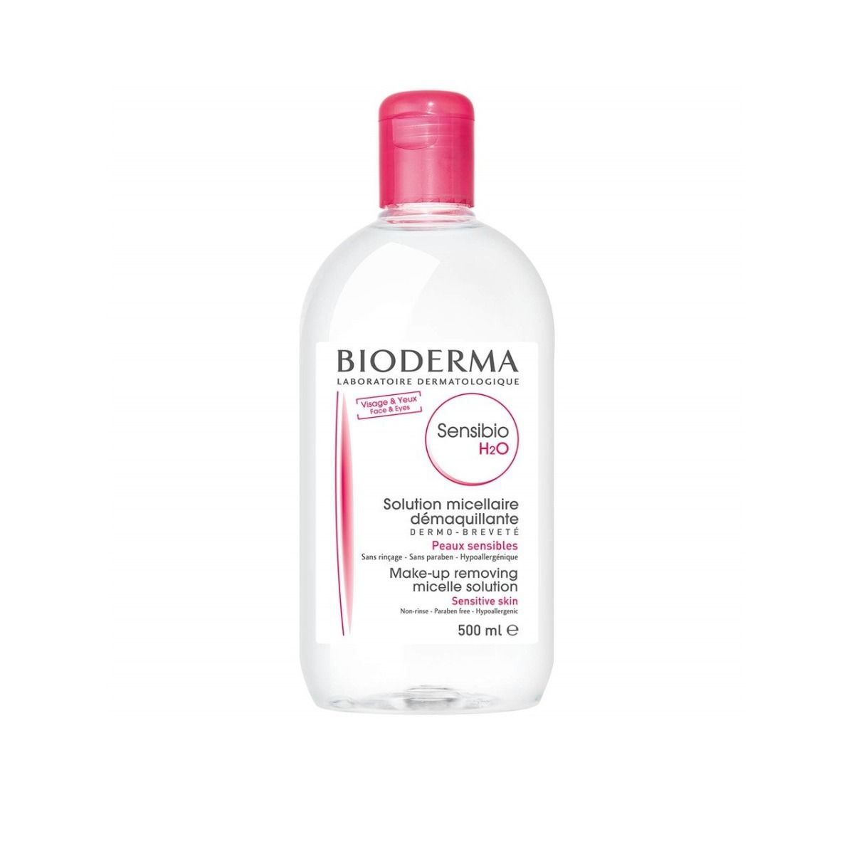Bioderma Sensibio H2O Micelle Solution 500ml