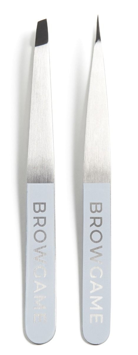 Browgame Cosmetics Pointed + Slanted Orginal Tweezer