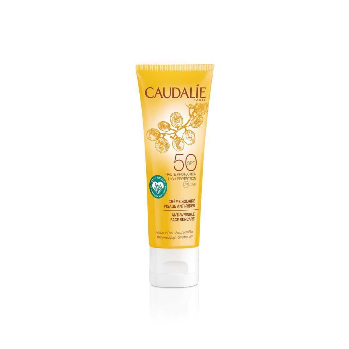 Caudalie Anti-wrinkle Face Suncare SPF 50 50ml