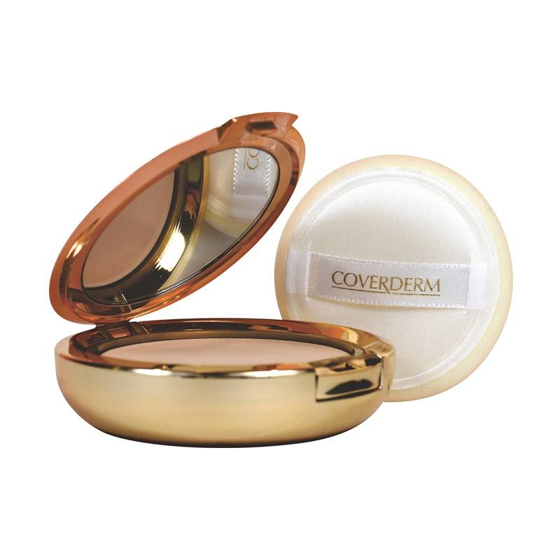 Coverderm Compact Powder Oily Skin 10g # 4A