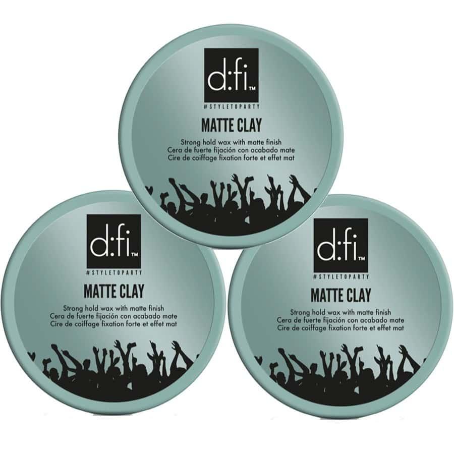 3-Pack D:fi Matte Clay 150g