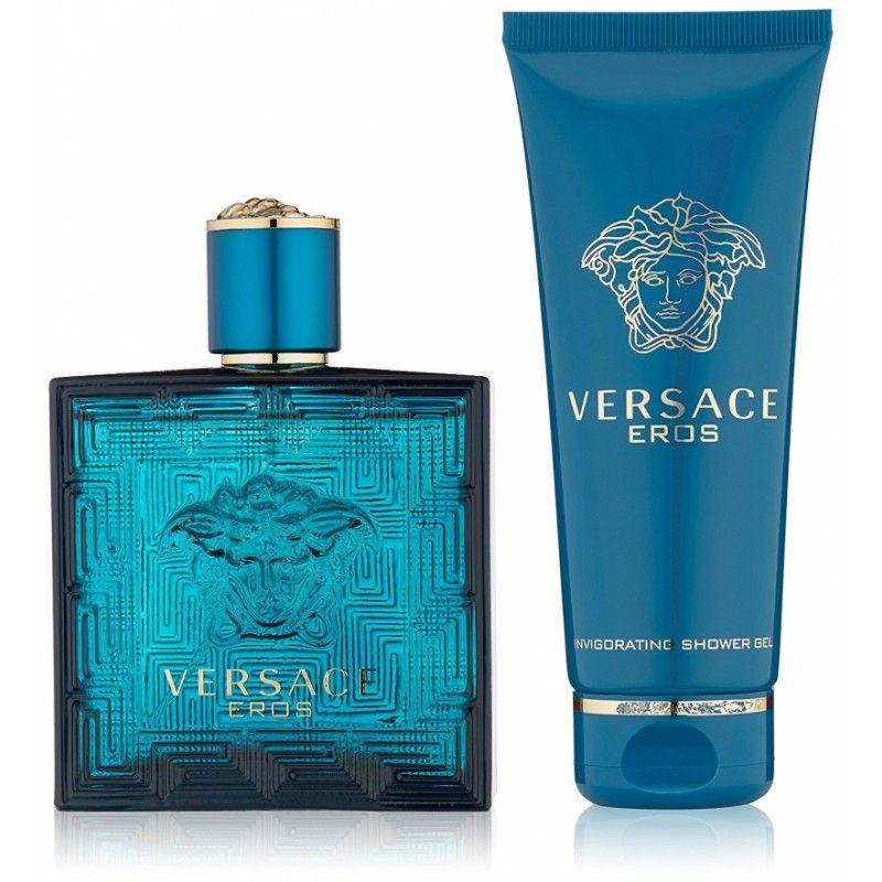Versace Eros Edt 100ml + Showergel 100ml Giftset