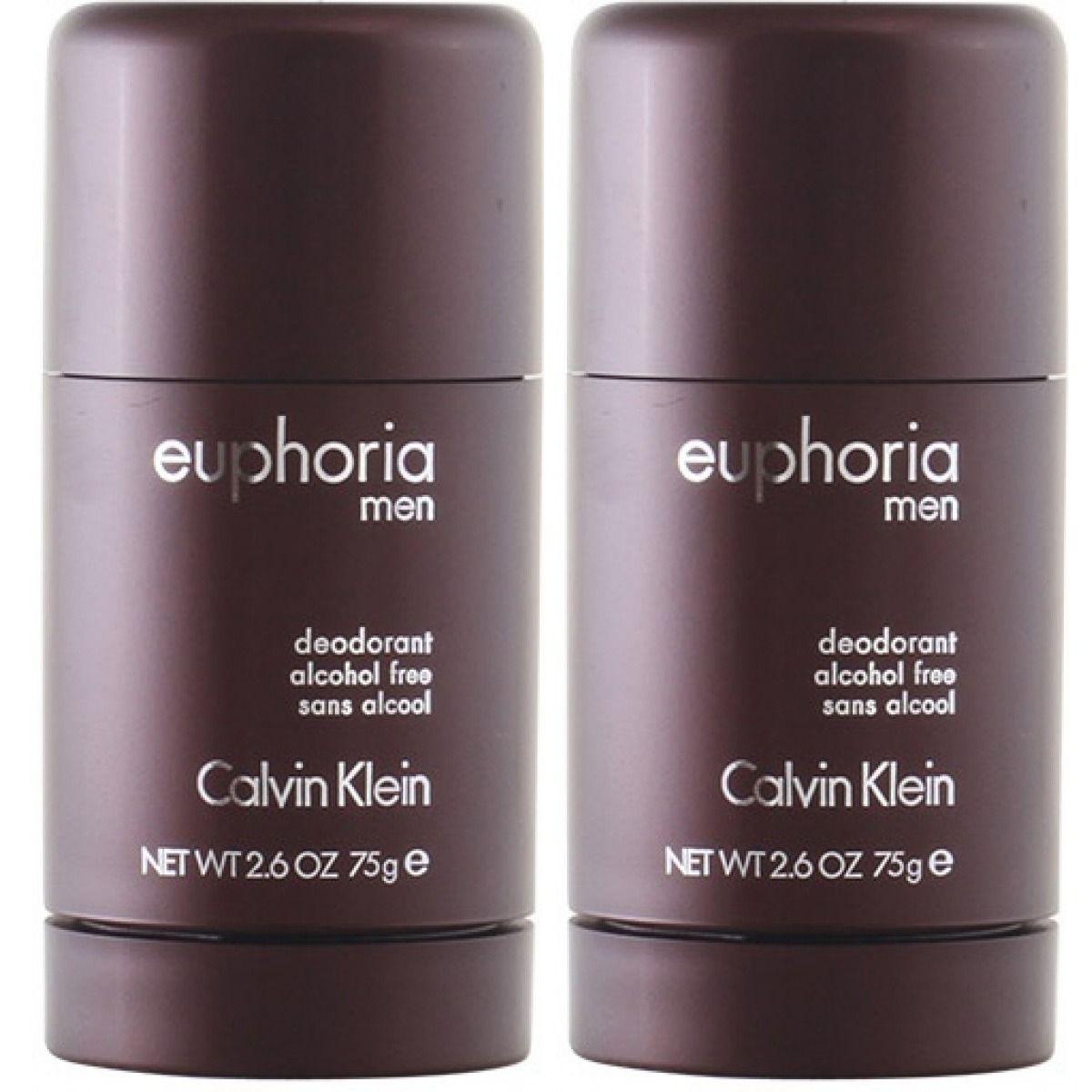 2-Pack Calvin Klein Euphoria For Men Deo Stick 75ml