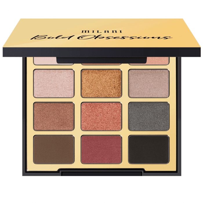 Milani - Eyeshadow Palette - Bold Obsessions