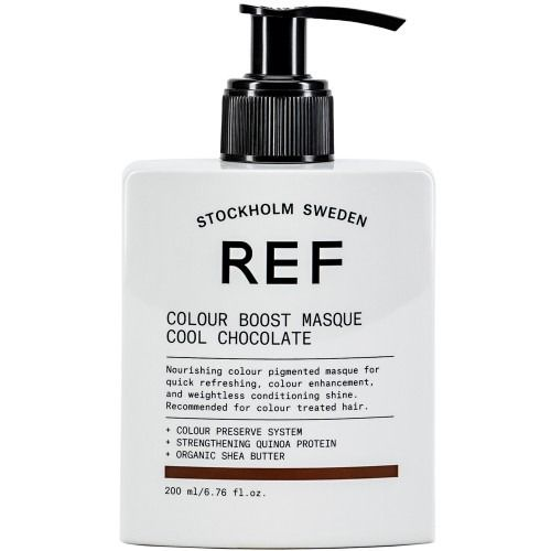 REF Colour Boost Masque Cool Chocolate 200ml
