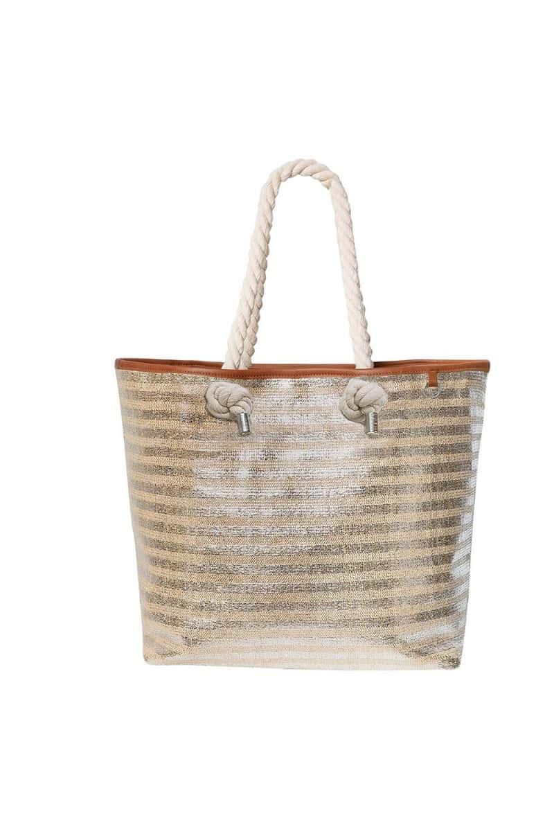 Panos Emporio Kalymnos Gold Bag