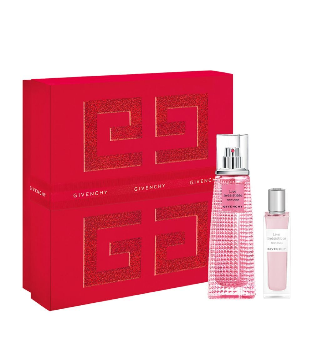 Givenchy Live Irresistible Rosy Crush Edp 50ml + Edp 15ml Giftset