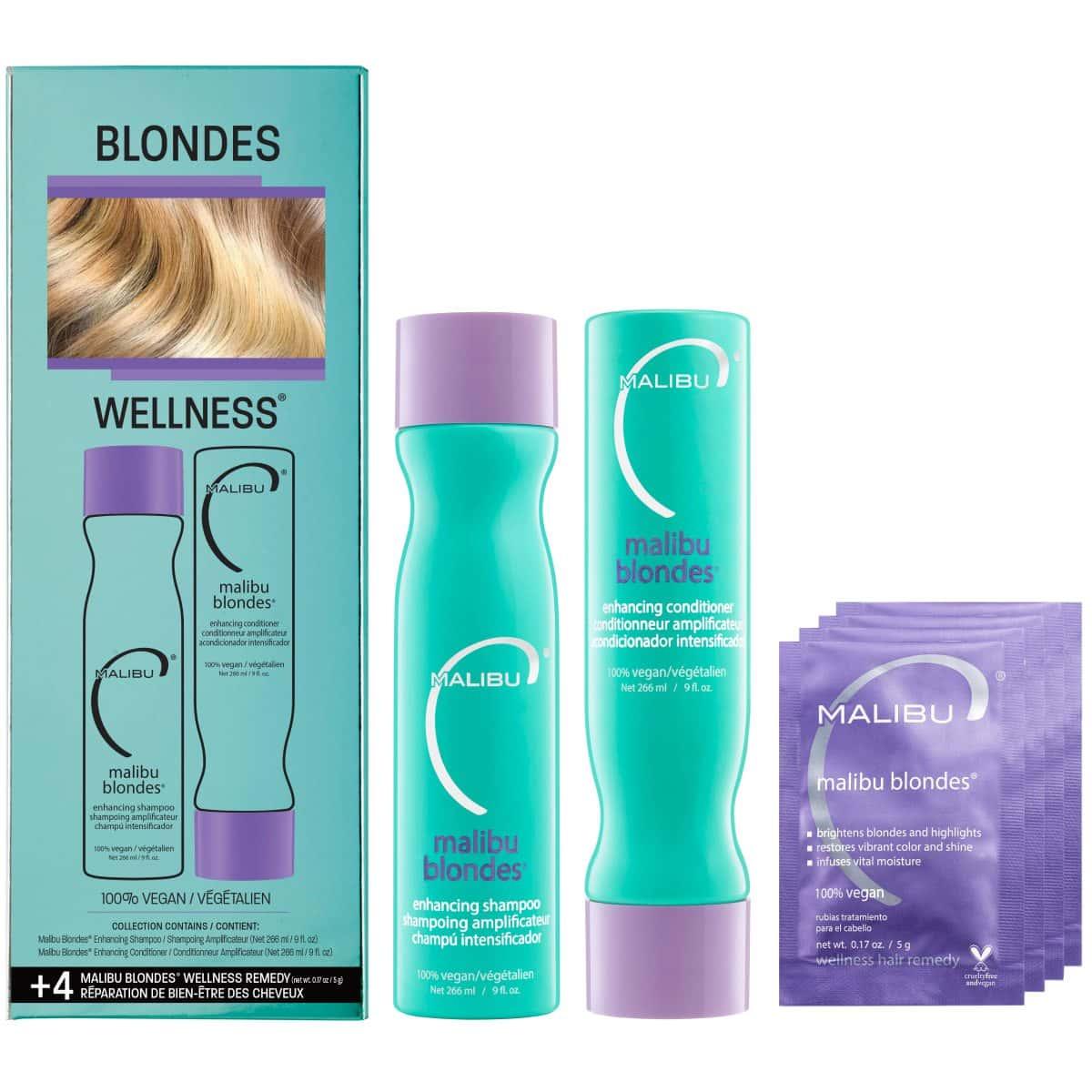 Malibu C  Blondes Collection Kit