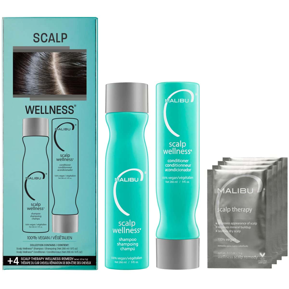 Malibu C Scalp Therapy Collection Kit