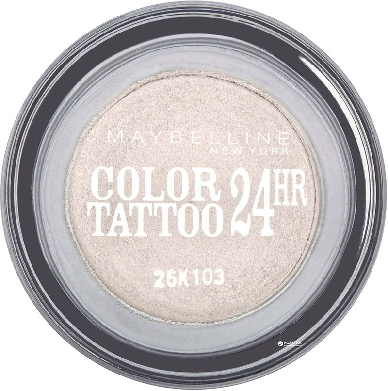 Maybelline Color Tattoo 24H Leather Effect Eyeshadow 45 Infinite White