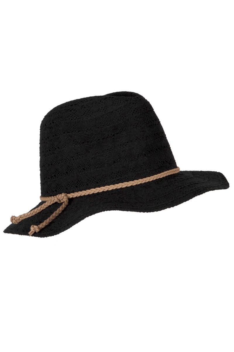 Panos Emporio Lace Naxos Hat Black