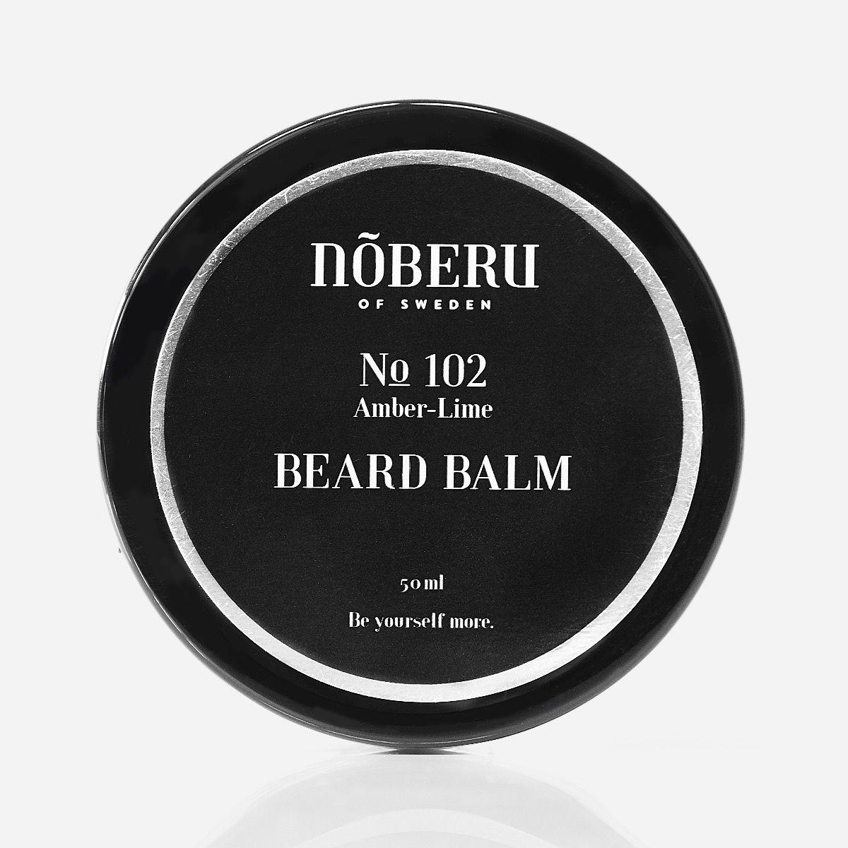 Nõberu Beard Balm Amber-Lime 50ml