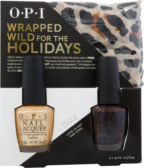 OPI Wrapped Wild For The Holidays Set