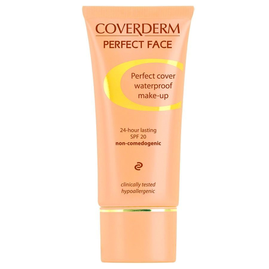 Coverderm Perfect Face Cover 24-Hour Lasting 30ml # 5A
