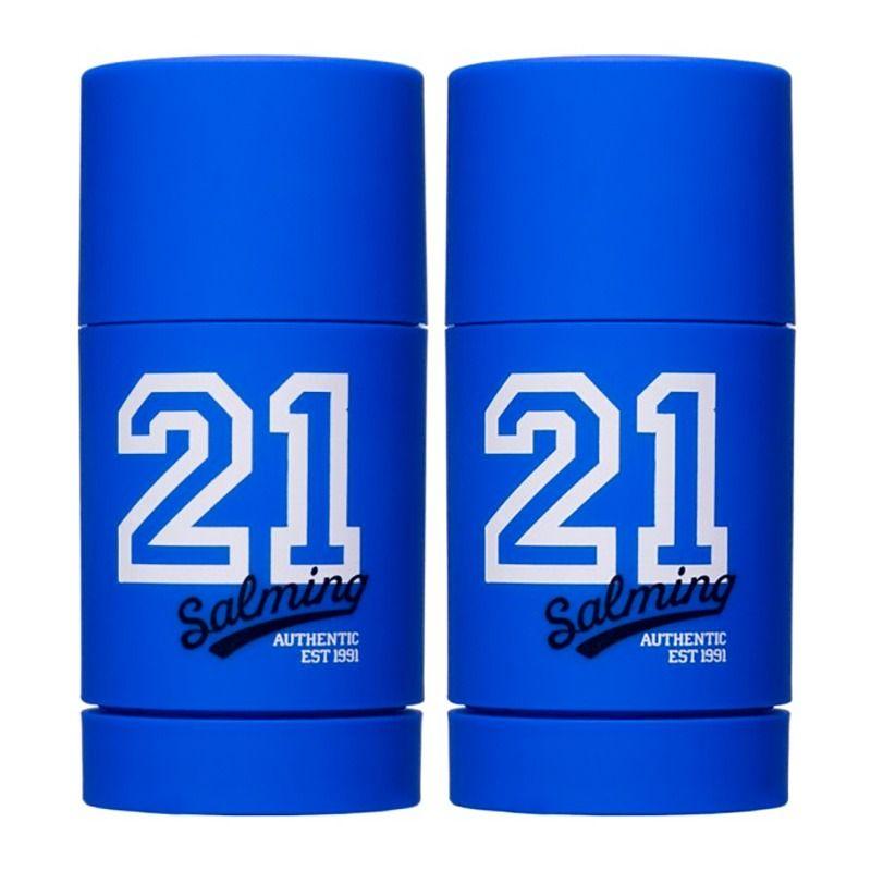 2-Pack Salming 21 Blue Deodorant Stick 75ml