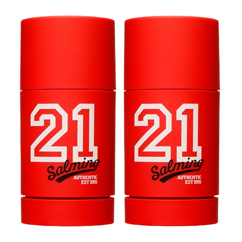 2-Pack Salming 21 Red Deo Stick 75ml