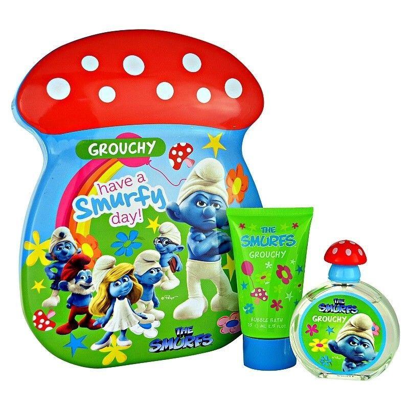 The Smurfs Grouchy Presentset Edt 50ml + 75ml Bubbelbath