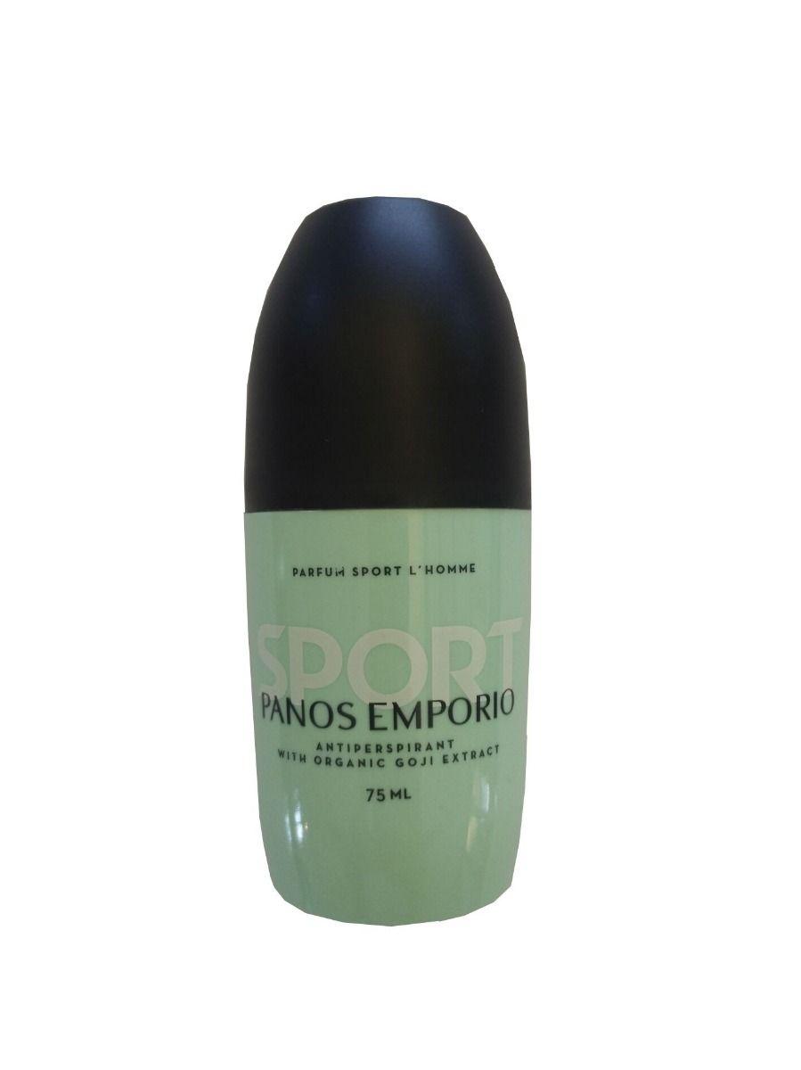 Panos Emporio Sport Man Roll-On Antiperspirant 75ml