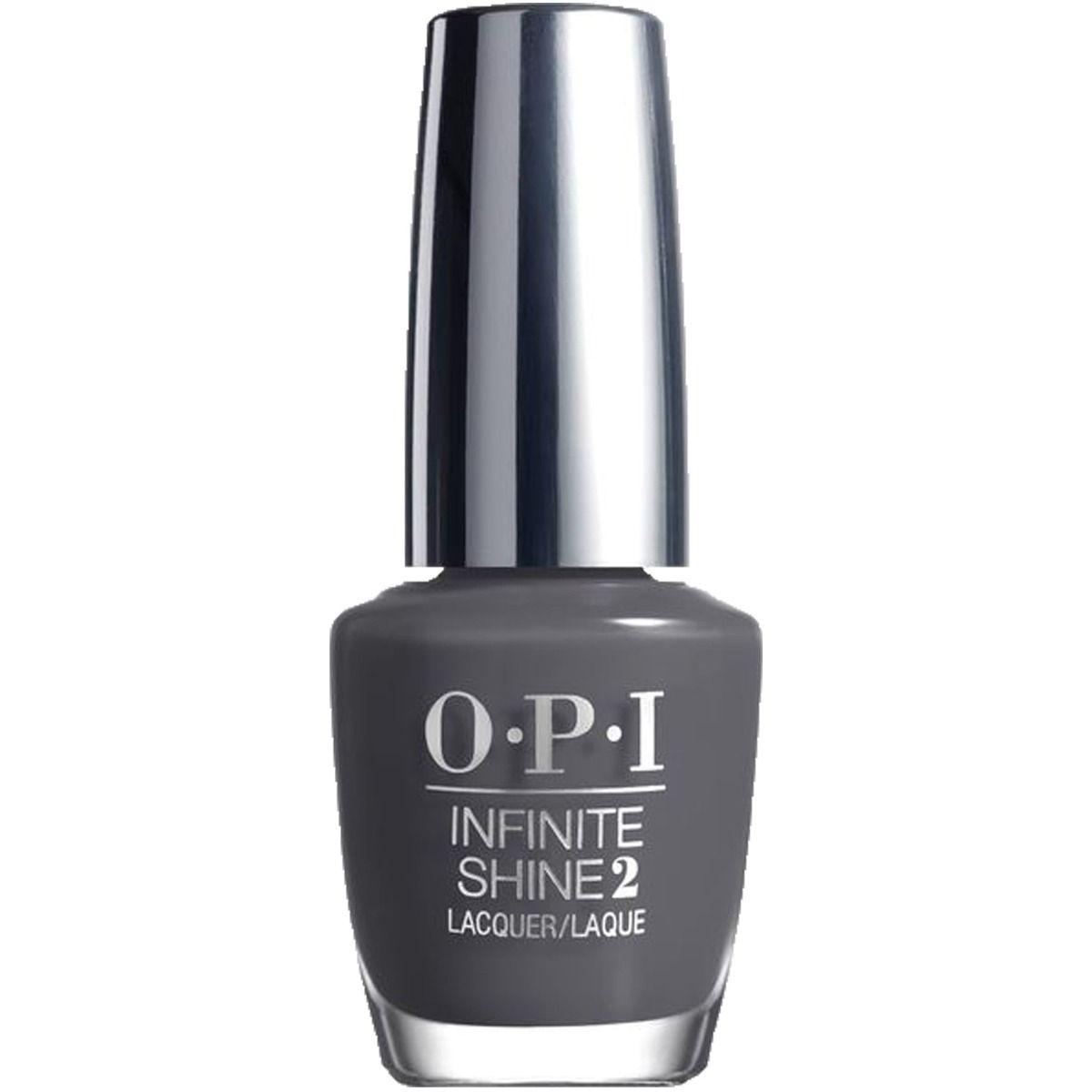 OPI Infinite Shine Steel waters run deep