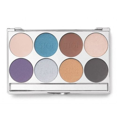 TIGI Cosmetics High Density Eyeshadow Palette Midnight Black 25,6ml