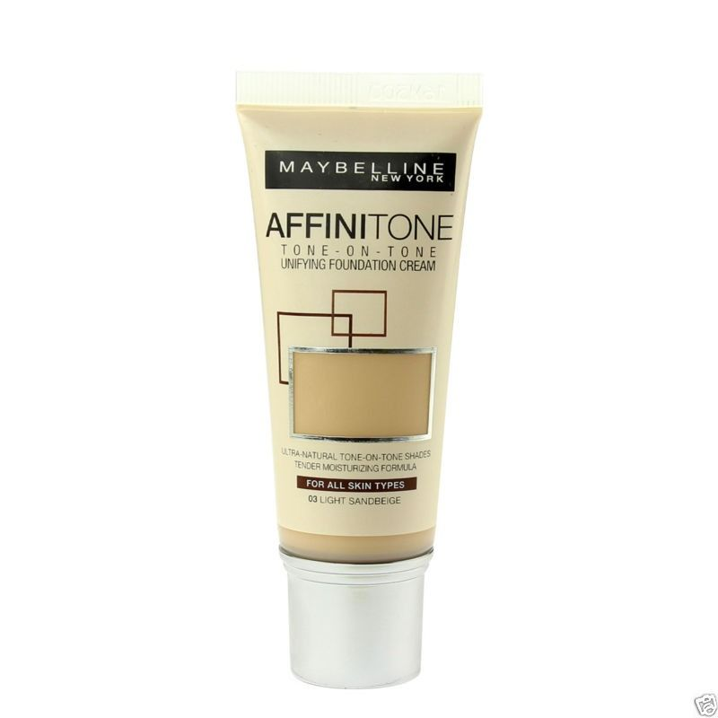 Maybelline Affinitone Tone-On-Tone Foundation Cream 14 Creamy Beige 30ml