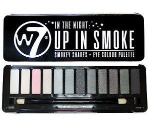 W7 In The Night Up In Smoke Shadow Platte
