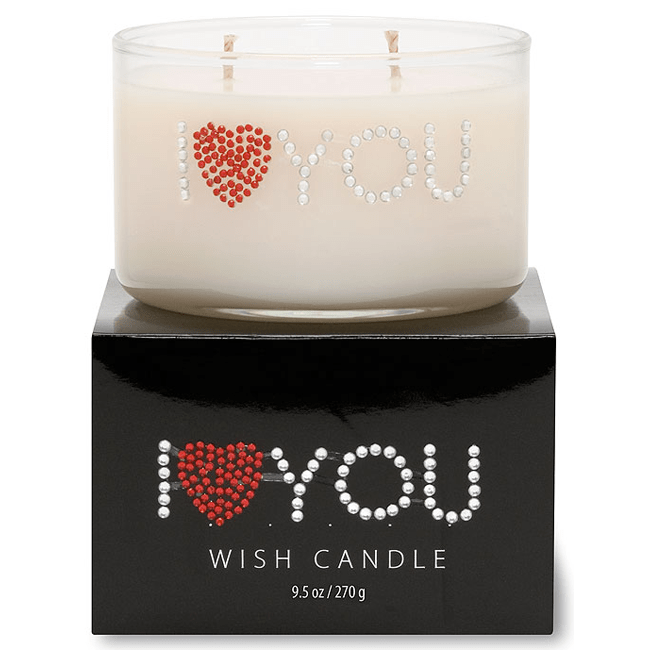 Primal Elements I HEART YOU Wish Candle