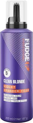 Fudge Clean Blonde Violet Xpander Foam 200ml